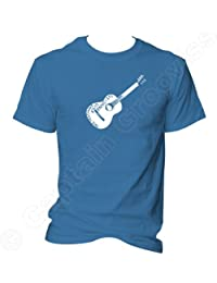 Woody Guthrie Guitar This Machine Kills Facists T shirt