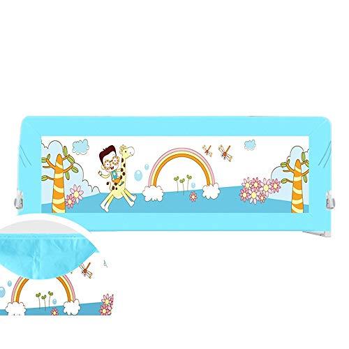 Bettgitter HUO 68cm tragbare und Faltbare Bettstange Babybett Zaun bruchsichere Bed Guard Lünette-1.5m, 1.8m, 2.0M (Farbe : B1.5M)