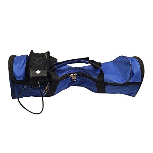 3 tamaños Xinji ACarring valijas bolso impermeable Portable para 2 ruedas Scooter eléctrico con cremallera equilibrio auto Azul azul Talla:10″ (25,4 cm)