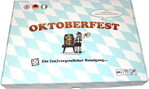 """Preisvergleich Produktbild Trinkspiel """"Oktoberfest"""": Ein Brettspiel mit Gaudi und Aktivitäten"""