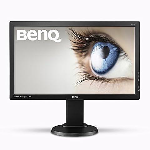 BenQ BL2405HT 61 cm (24 Zoll) Monitor (HDMI, DVI, VGA, 2ms Reaktionszeit, Lautsprecher, Pivot)