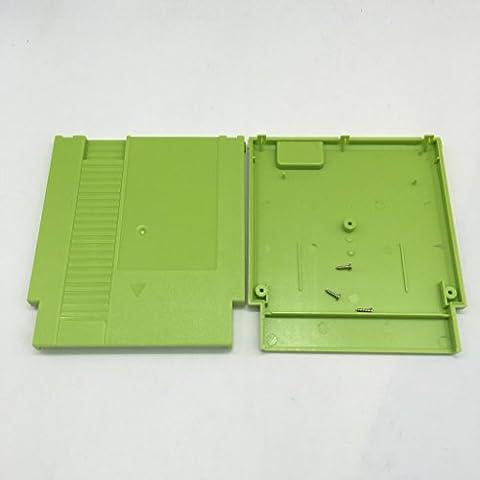 Meijunter Green Hard Case Cartridge Shell Cover étui rigide couvercle d'enveloppe de cartouche for Nintendo Entertainment System NES 72 Pin 60-72 Pin