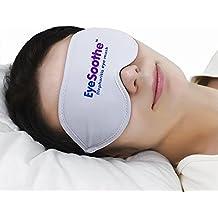 Máscara para ojos EyeSoothe para blefaritis con paquete de gel para calentar y bolsa de almacenamiento