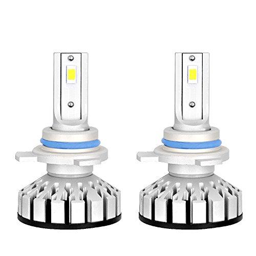 Kit LED Scheinwerfer 6000 K in 12 PCS LED-Chip 9012 HIR2 LED 48W 6000LM