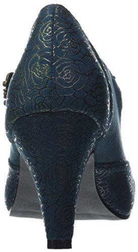 Joe Browns - Boutique And Unique Shoes, Scarpe con cinturino Donna Green (Teal)