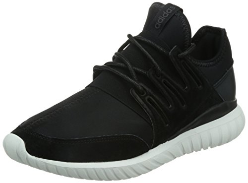 adidas Tubular Radial, Chaussures de Fitness Homme, One Size Noir (Core Black/Core Black/Crystal White)