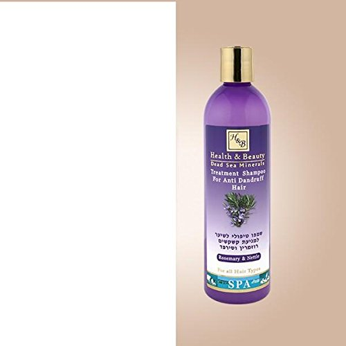 H&B Dead Sea Anti-dandruff Treatment Shampoo With Rosemary, Nettle and Dead Sea Minerals 400 ml