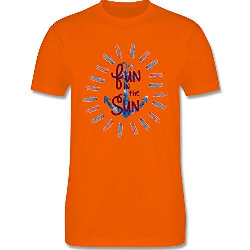 Statement Shirts - Fun in the sun - Herren Premium T-Shirt Orange