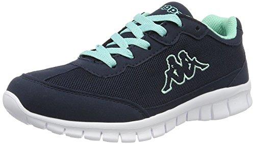 kappa-damen-rocket-sneaker-blau-navy-mint-40-eu