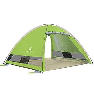 Spfree Pop Up Zelt, Automatisches Outdoor-Zelt für 3-4 Personen Schnellöffnungs Wurfzelt mit Tragetasche