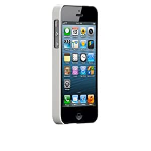Manvex Ultra Slim Snap-on Case for the New iPhone 5 - White
