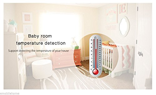 LWD Video Baby Monitor,Night Vision Digital Camera, Temperature Monitoring & 2 Way Talkback Audio, Built-in Remote Lullabies Soother System 2.4 inch Color LCD Screen,Including Corner Shelf