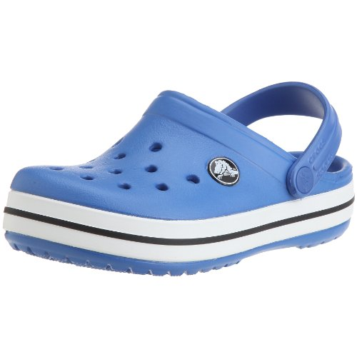 Crocs Crocband Kids, Unisex - Kinder Clogs, Blau (Sea Blue), 19-21 EU
