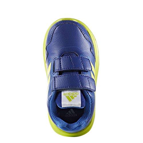 adidas Kleinkinder AltaRun CF I, Mystery ink f17/semi solar yellow/blue Mystery ink f17/semi solar yellow/blue