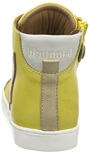 Bisgaard Unisex-Kinder Shoe with Laces High-Top Gelb (80 Yellow)