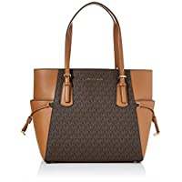 Michael Kors Womens Tote Bag, Brown/Acorn - 30F8GV6T4B One Size