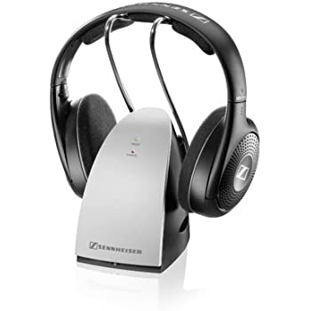 Sennheiser RS120 II RF Wireless On-Ear Headphone with UK/Ireland Power Supply