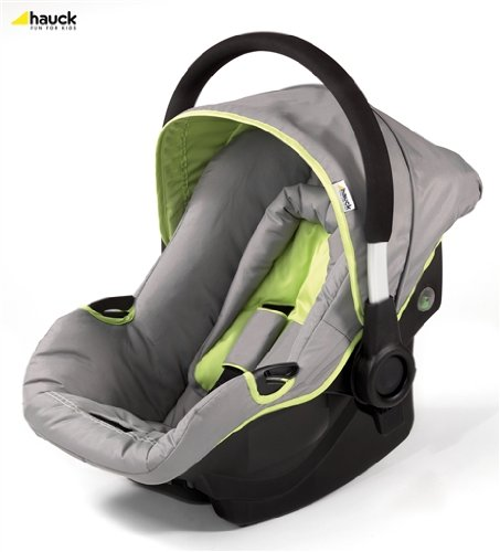 Hauck Group 0+ Car Seat for Capri and Manhattan – Grey/Lime