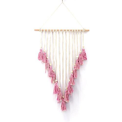 Cutogain Knit, Quaste, zum Aufhängen, Wandteppich, Boho, Wohnung, Hochzeit Party Decor, MS7163