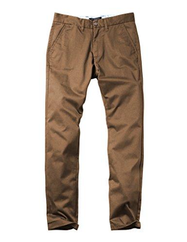 Match Herren Slim Straight Casual Hose #8036 8036 Kamel