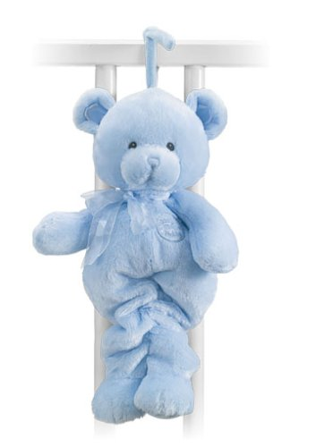 Gund 33cm Pullstring Musical Bear Newborn and Above (Blue)