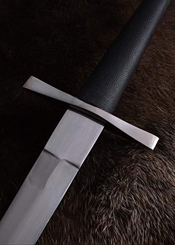 Mittelalterlicher Einhänder Schwert, handgeschmiedet, 97,5 cm medieval sword – Echt Metall - 5