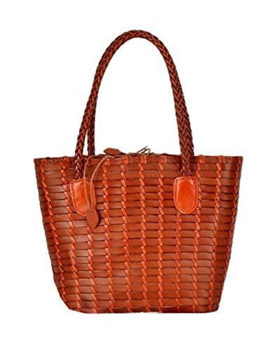 Insun ,  Damen Tasche , Orange - orange - Größe: One Size