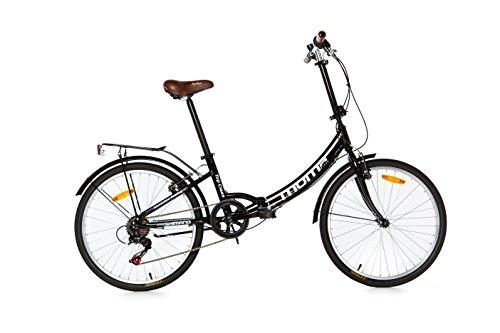 Moma Bikes Bicicleta Plegable ruedas 24' SHIMANO 6...