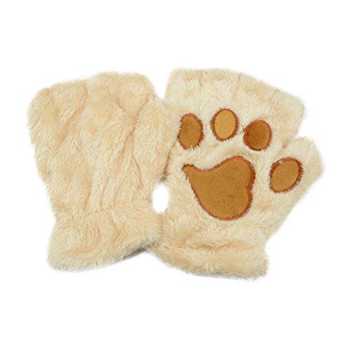 The Mountain T-Shirt Wolf lookout, Beige, 3,9 x 3,9 x 0,4 Zoll - Schwarze Und Weiße, Fingerlose Handschuhe