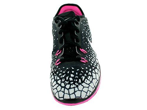 Nike Herren, , wmns nke free 5.0 tr fit 5 prt, mehrfarbig (black/mtllc Schwarz mit silber