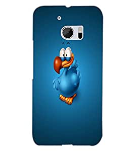 HTC ONE M10 DUCK Back Cover by PRINTSWAG