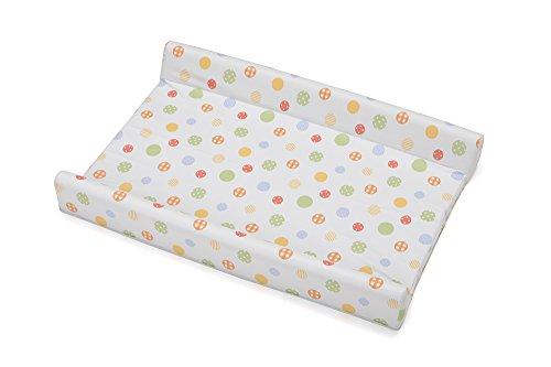 Foppapedretti Matelas à langer 2 bords bagnetti, multicolore Teneri Incontri - 72 x 50 x 9 cm