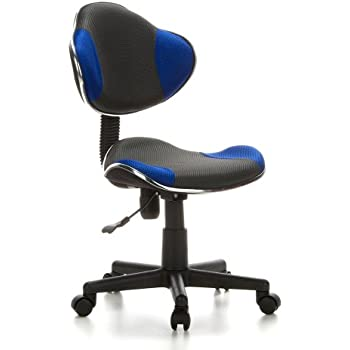 hjh OFFICE 633000 Childrens Desk Chair swivel chair computer chair kids room KIDDY GTI 2 blue robust fabric for children low back adjustable ...  sc 1 st  Amazon UK & hjh OFFICE 670100 Childrens Desk Chair swivel chair computer ... islam-shia.org