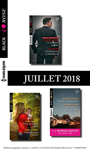 10 romans Black Rose + 1 gratuit (nº486 à 490 - Juillet 2018) (French Edition)