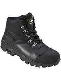 Rock Fall Granit rf170/schwarz S3/HRO SRC mit Stahlkappe Wasserdicht-Stiefel Sicherheit