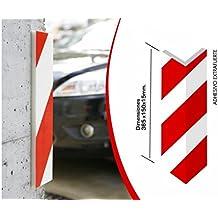 Dicoal M235791 - Protector parking cantonera adhesivo extrafuerte