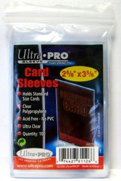 1000 Ultra Pro Soft Sleeves - 10 Packs - Ultra Clear - 3 x 4 - Magic: The Gathering