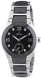 Festina Damen-Armbanduhr Analog Quarz Keramik F16588-3