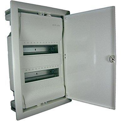 Hager VU24NC Volta UP-Verteiler IP30 mit Tür 24 PLE
