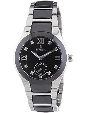 Festina Damen-Armbanduhr XS Analog Quarz verschiedene Materialien F16588/3