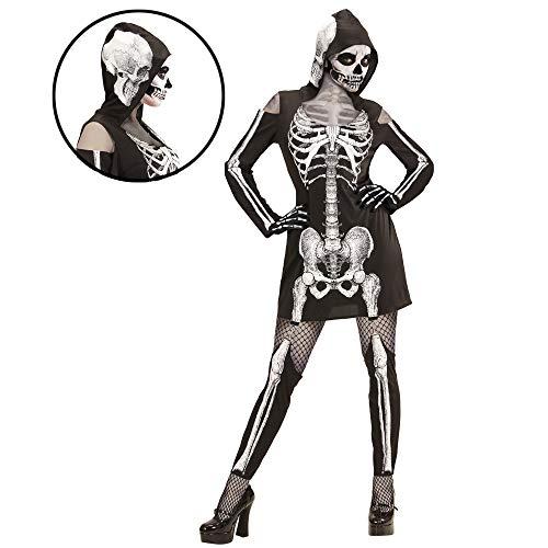 Erwachsenenkostüm Skelettlady