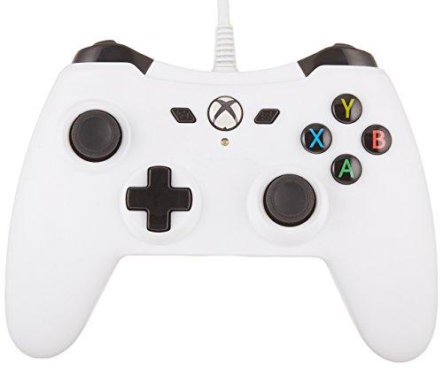 AmazonBasics - Controller für die Xbox One, kabelgebunden, Weiß