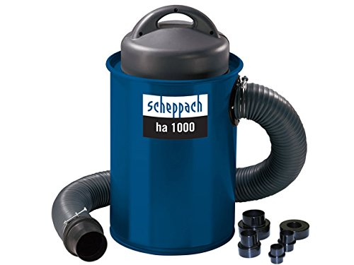 Scheppach 4906302901 Absauganlage ha 1000 inkl. Adapter Set,   1100 W 230V 50Hz