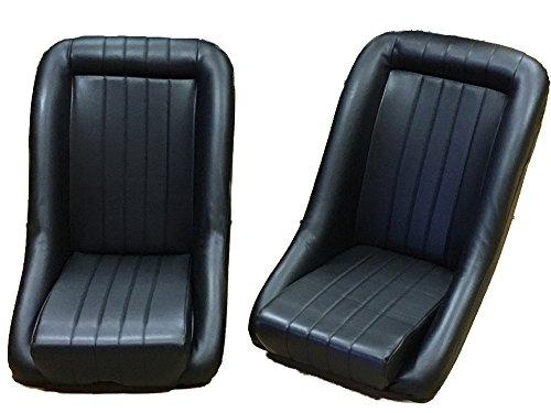 Preisvergleich Produktbild Paar BB1Classic Clubman Bucket Sitze für Classic Cars Universal