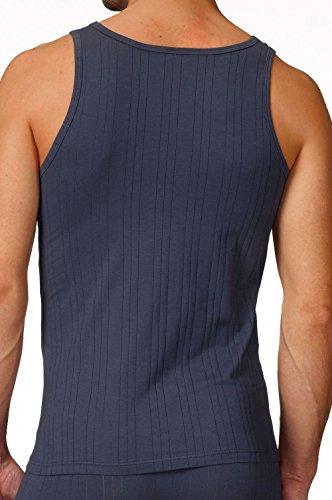 Calida Pure & Striped Athletic-Shirt Herren Weiß