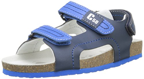 ChiccoSandale Hamadeo - Sandali alla caviglia con punta aperta Bambino , Blu (Bleu (800)), 34