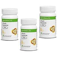 Herbalife Afresh Energy Drink Mix | Lemon Flavor | 50 GM for Men and Women in Pack of 3