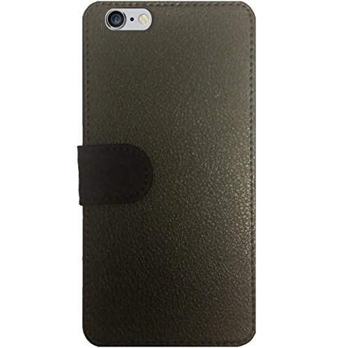 Leder Flip Case Tasche Hülle für Apple iPhone 5/5S - Usa / Grunged Flagge ... by pASob Lederoptik