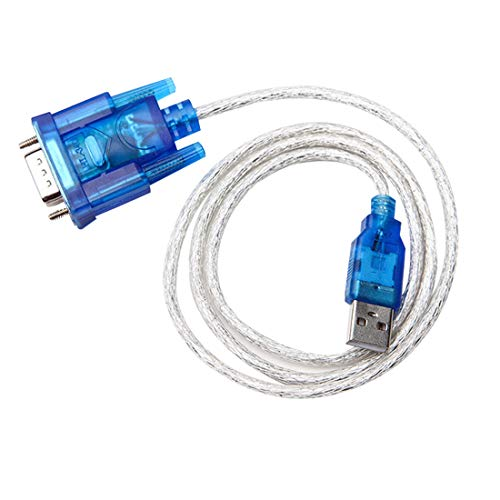 Uu19ee Puerto USB RS232 Puerto Serie 9 Pin DB9 Cable