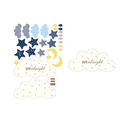 Holywonder Innovative Wandbehänge Bettglocken Kinderzimmer Wanddekoration Nordic Style Cloud Rocket Dekoration - Und Babybetten Wickeltische
